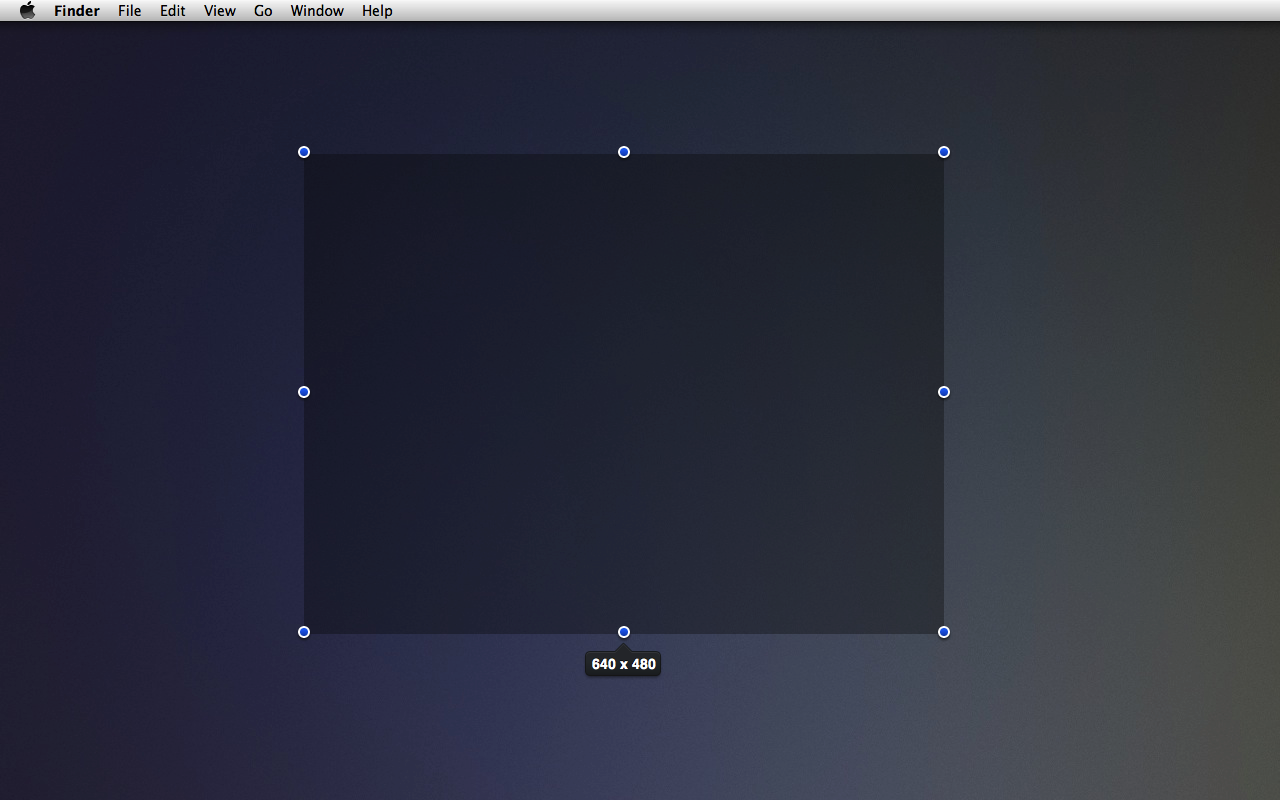 Crosshairs - Get dimensions of anything on screen for Mac OS X