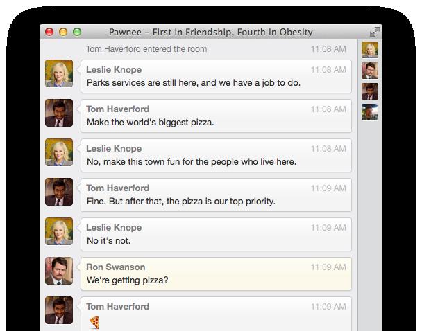 Flint - Campfire client for Mac OS X   Giant Comet